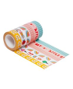 Set de 6 masking tapes Apple of my Eye