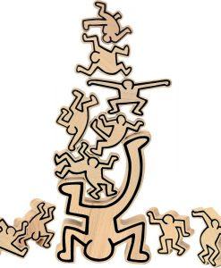 Jeu d'équilibre Keith Haring