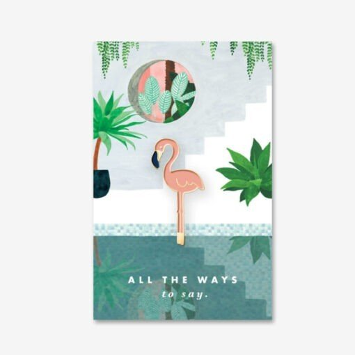 Pin's Flamingo All The Ways To Say