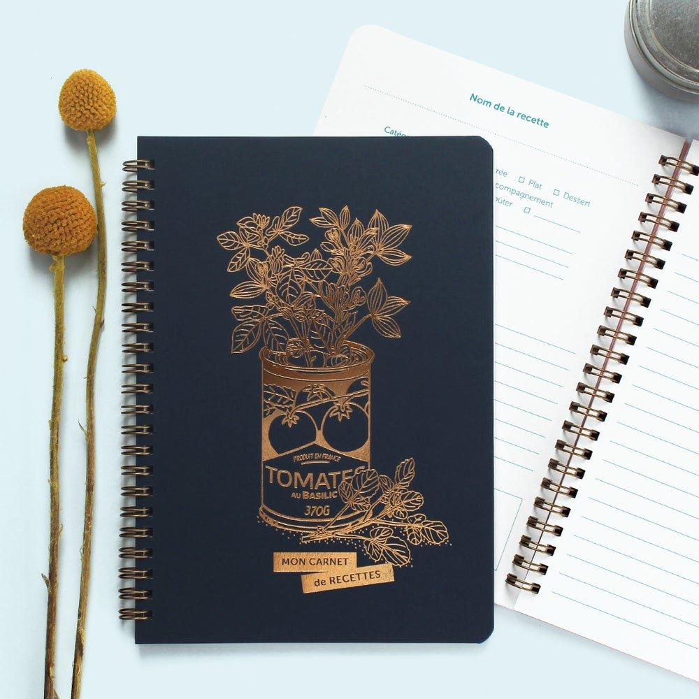carnet de recettes jolie conserve les éditions du paon