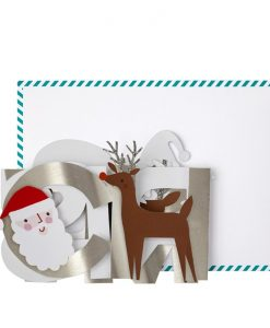 Carte à déplier Noël Christmas