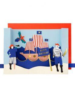 Carte anniversaire Pirates Meri Meri