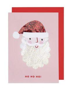 Carte Père Noël à secouer