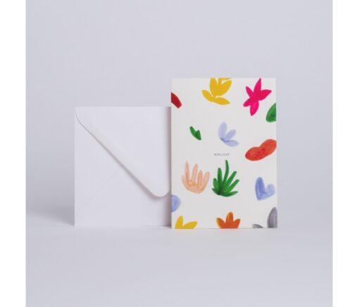 Carte Bonjour Season Paper
