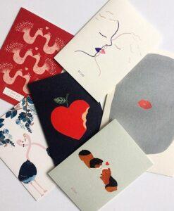 Carte Pomme d'amour Season Paper