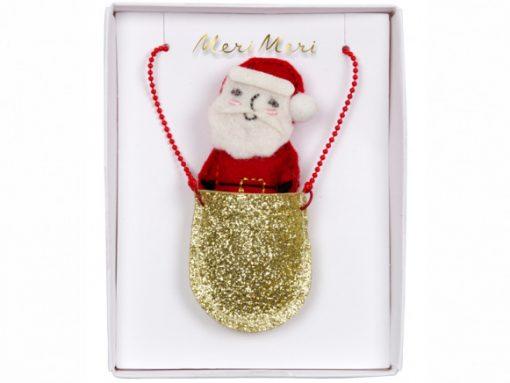 Collier Père Noël Meri Meri