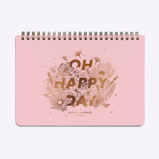 Semainier Oh Happy day Les Editions du Paon