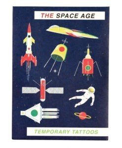 Tatouages temporaires Espace