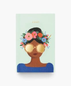 Agenda de poche 2021 Rifle Paper Flowers crown