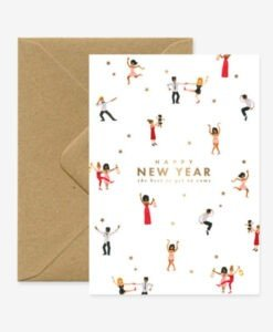 Carte Bonne année Dancers All The Ways To Say