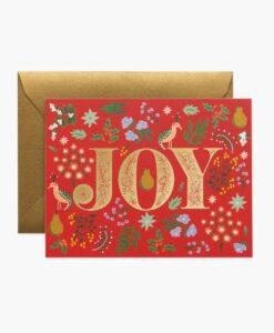Carte de voeux Joy Rifle Paper Co