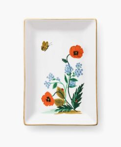 Vide poche Rifle Paper Co Poppy Botanical