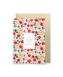 Carte Anniversaire Fleuri Petit Gramme