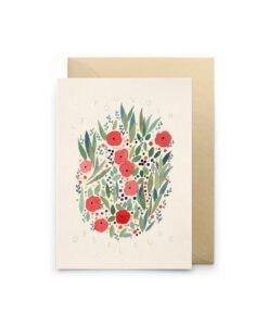Carte à message Le pouvoir des fleurs Petit Gramme