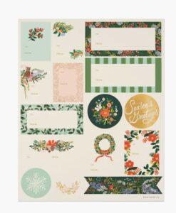 Stickers Rifle Paper Winter Floral- Set de 45