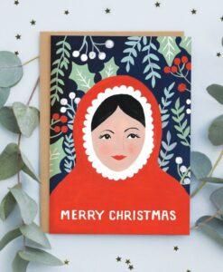 Carte Mère Noël Jade Fisher