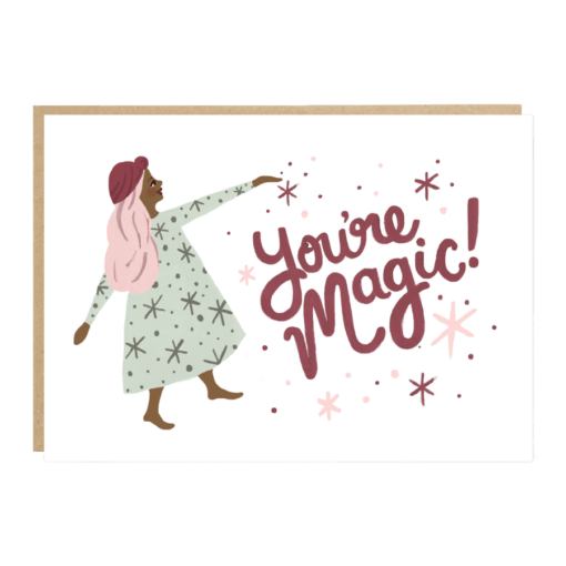 Carte You're magic Jade Fisher