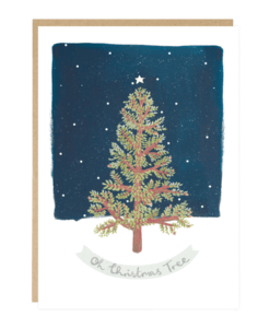 Carte de Noël Oh Christmas Tree Jade Fisher