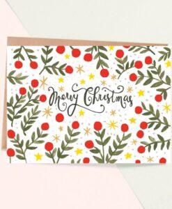 Carte de Noël Sparkle Jade Fisher
