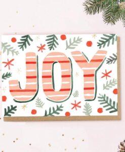Carte de voeux Joy Jade Fisher