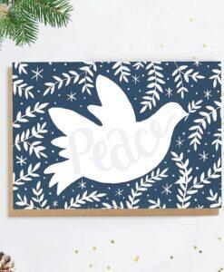 Carte de voeux Peace Jade Fisher