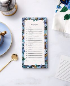 Bloc-notes Garden Party Blue Rifle Paper