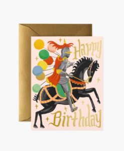 Carte anniversaire Chevalier Rifle Paper