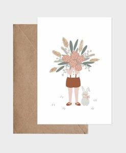 Carte Le gros bouquet Atelier Oranger