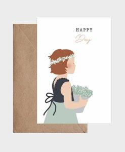 Carte Happy Day Atelier Oranger