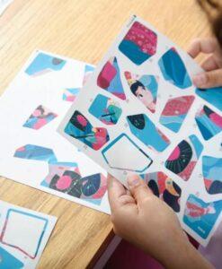 Puzzle à stickers Princesses (5-10 ans)