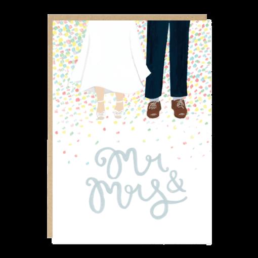 Carte mariage Confettis Jade Fisher