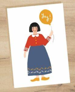 Carte Yay ! Jade Fisher
