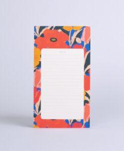 Bloc-notes Coquelicot Season Paper